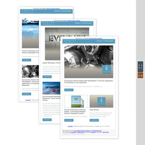 Acuity ES Email Layouts