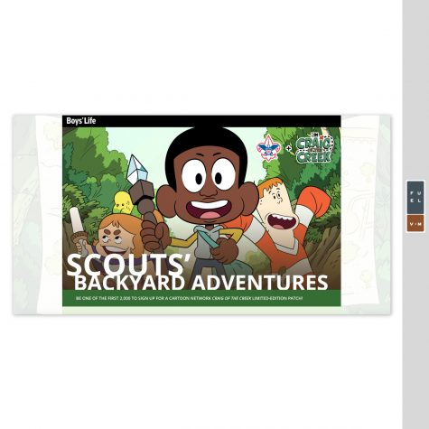 BSA + Craig of the Creek Landing Page