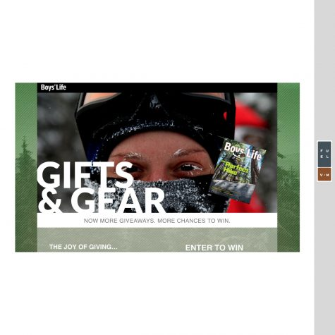 Gifts & Gear Landing Page
