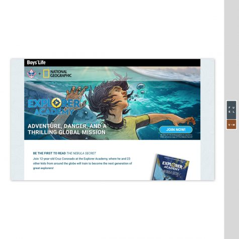 BSA + National Geographic Landing Page