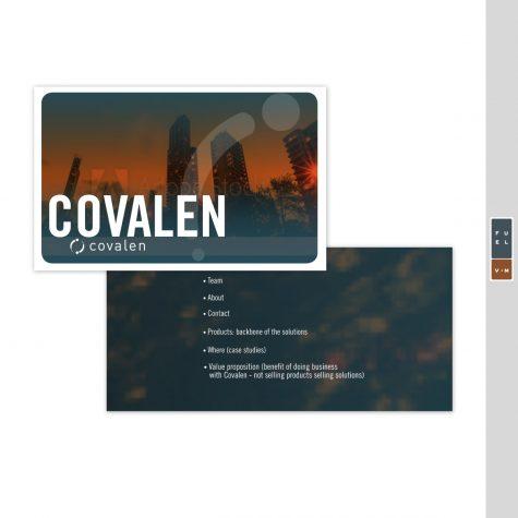 Covalen Prezi Slide Presentation