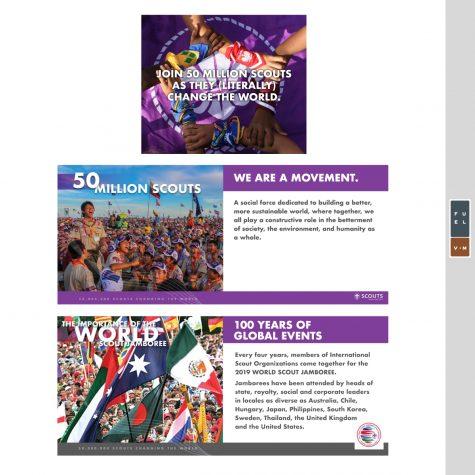 World Scout Jamboree Pitch Book