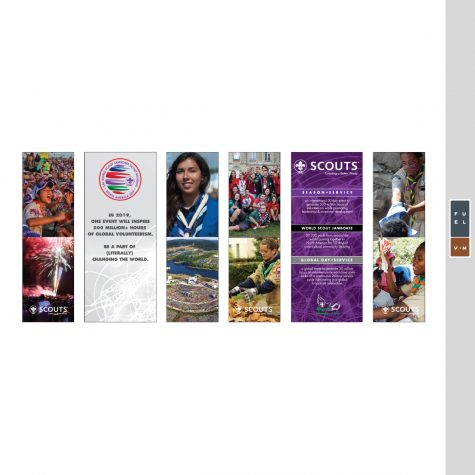 World Scout Jamboree Trade Show Banner