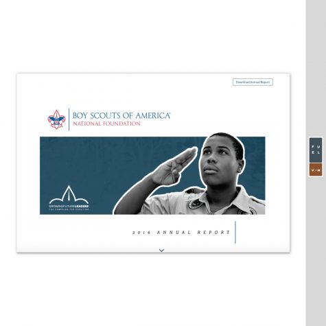 Boy Scouts of America Foundation Annual Report 2016
